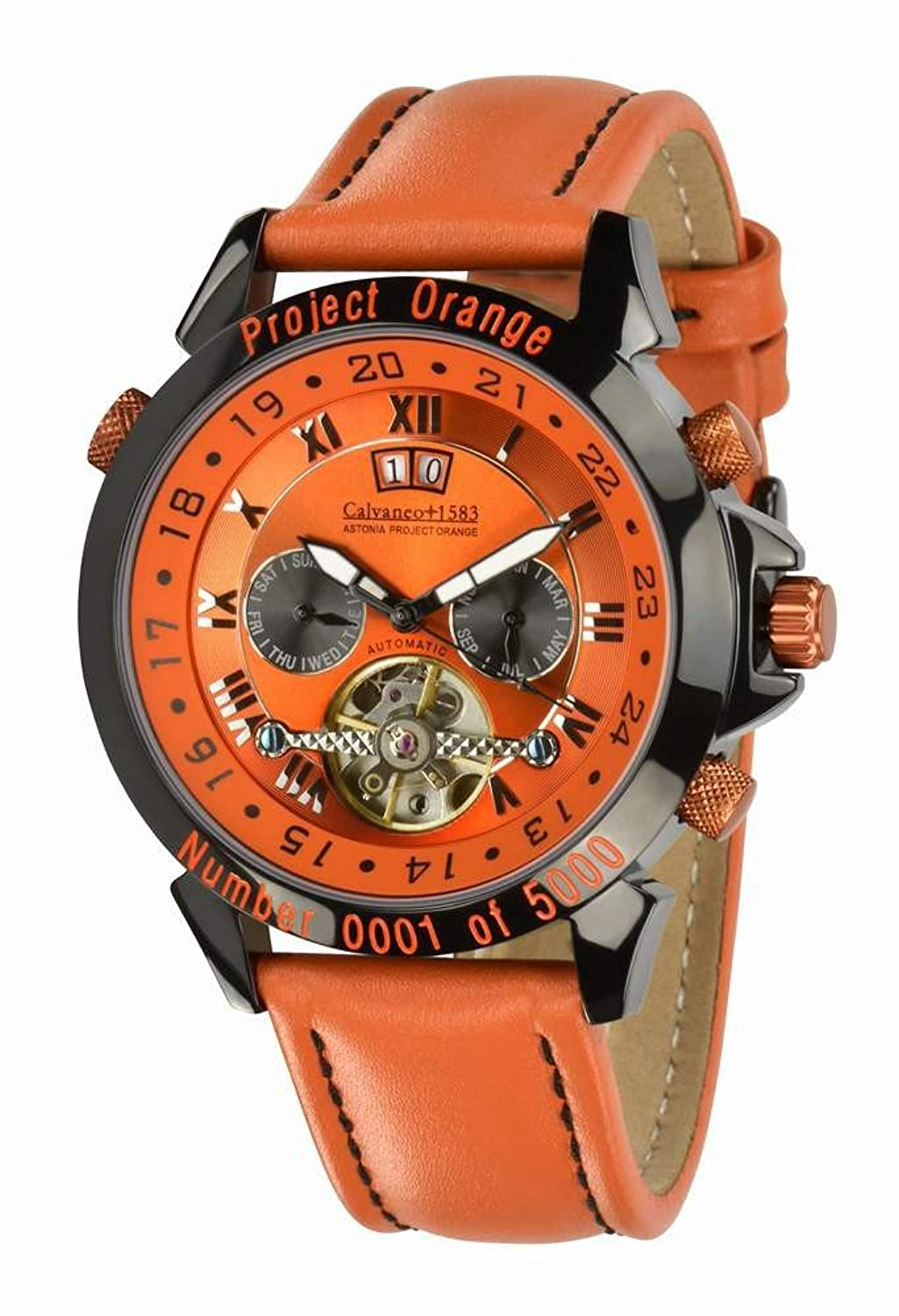 Astonia 'Project Orange Edition' - Sonderedition Automatik - Calvaneo 1583