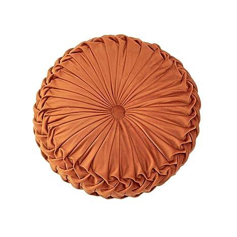 Xiang Ru - Cojines de Terciopelo para el Suelo, A-Orange ...