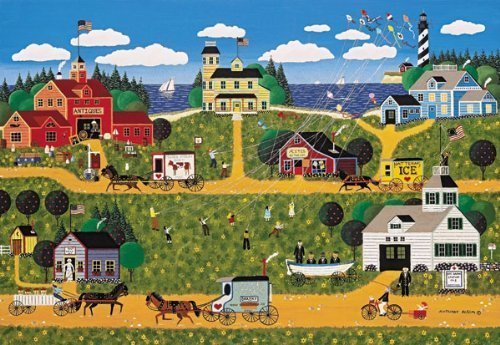 AMERICANA COLLECTION Puzzle HATTERAS FLIGHT 500 Piece Jigsaw Puzzle