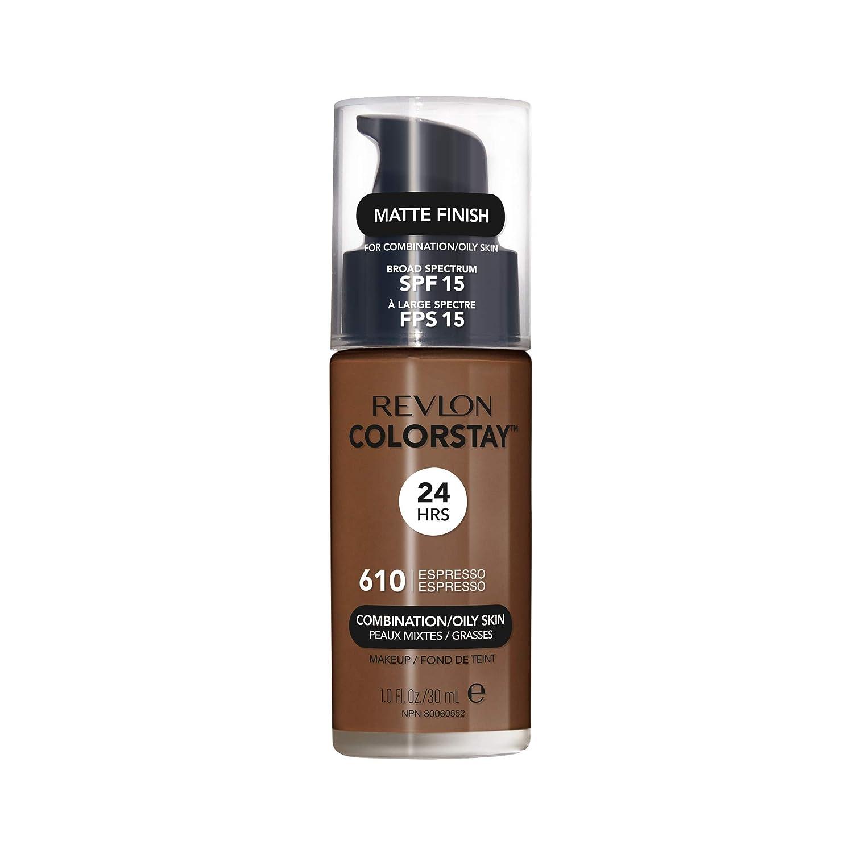 Revlon ColorStay Liquid Foundation For Combination/oily Skin, SPF 15 Espresso, 1 Fl Oz