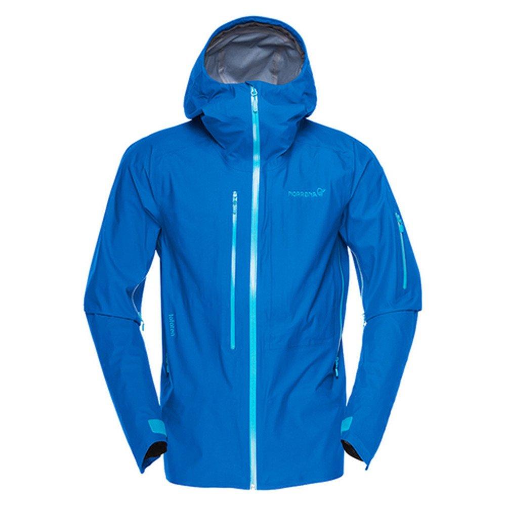ノローナ(ノローナ) lofoten Gore-Tex Active Jacket (M) メンズ ロフォテン ゴアテックス アクティブ ジャケット 1021-17 2335 Hot Sapphire B077SJNYH2  ブルー S