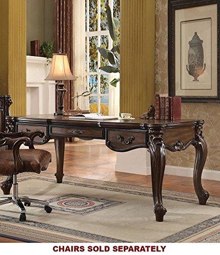 ACME Versailles Cherry Oak Executive Desk