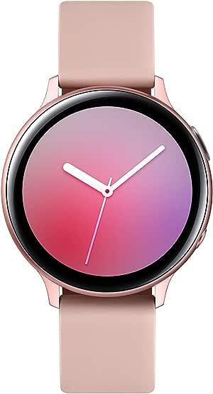 Samsung SM-R820NZDAXSP Galaxy Watch Active2 Aluminum with Bluetooth, 44mm, Pink Gold