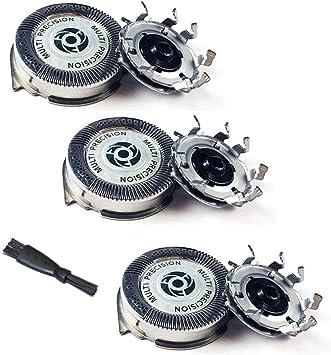 Life-Q SH50 Cabeza de Afeitadora de Repuesto, 3 piezas Cuchillas de Repuesto para Rasuradoras Electricas Philips S5000 S5010 S5380 S5570 S5571 S5420: Amazon.es: Salud ...