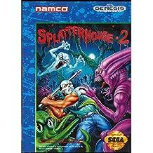 Splatterhouse 2 (Sega Genesis / Megadrive) - Reproduction Cartridge with Clamshell Case and Manual