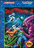 Splatterhouse 2 (Sega Genesis / Megadrive) - Reproduction Cartridge with Clamshell Case and Manual