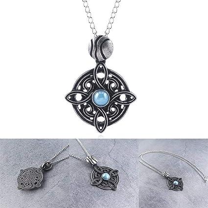 Amulet of Mara Skyrim Turquoise Retro Necklace Engagement Jewelry Sky Rim  Pendants for Boys Girls Women Wedding Party Necklaces