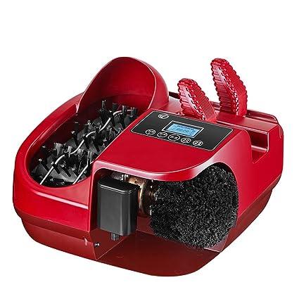 ZZHF Limpiador de suela Máquina de zapato de cepillo de pie automática de hogar Cepille la