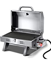 Grillz Gas BBQ Smoker Charcoal Grill Outdoor Camping