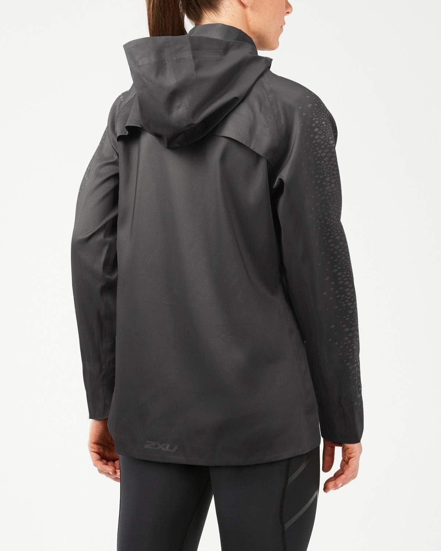 2XU Heat Liteweight Membrane Jacket-Wr5207a Blouson Femme noir/noir