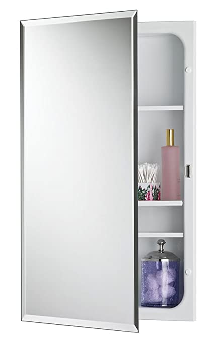 on sale ca4e4 337e4 Jensen 1459MODX Bevel Mirror Medicine Cabinet, 16