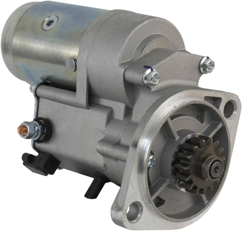 Rareelectrical New Starter Compatible With John Deere Tractor 4500 4510 4600 4610 4700 By Part Numbers AM879743 228000-7110 129429-77011 129429-77010 YM129429-77010 2280007110 2280007111 1280007300