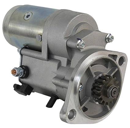 NEW STARTER FITS YANMAR ENGINE 4TN82 4TN84 GENERATOR SETS AM877284 MIA10300  TY25235