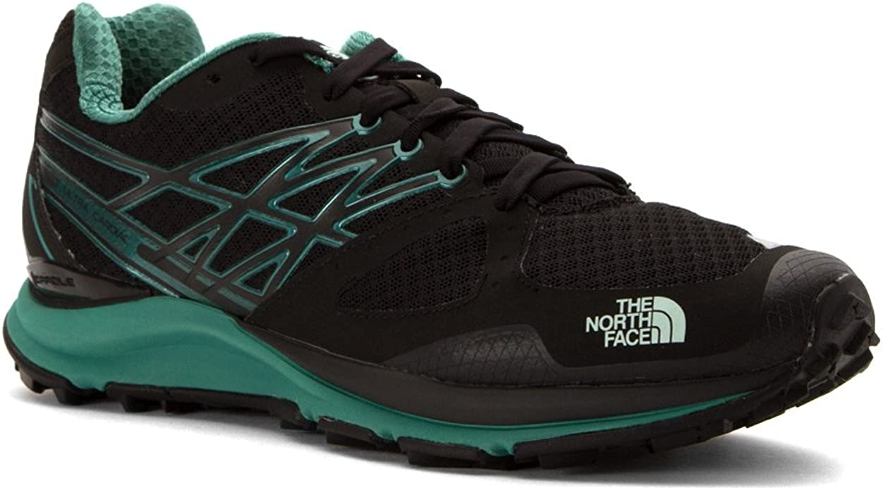 The North Face Ultra Cardiac - Chaqueta para Mujer, 9.5 B(M) US, TNF Black/Subtle Green: Amazon.es: Deportes y aire libre