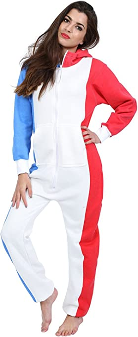 Juicy Trend Mujer Adulto Onesie Ropa de Dormir Pijamas Onepiece ...
