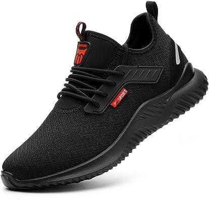 Amazon.com: Gosuban Steel Toe Shoes Men