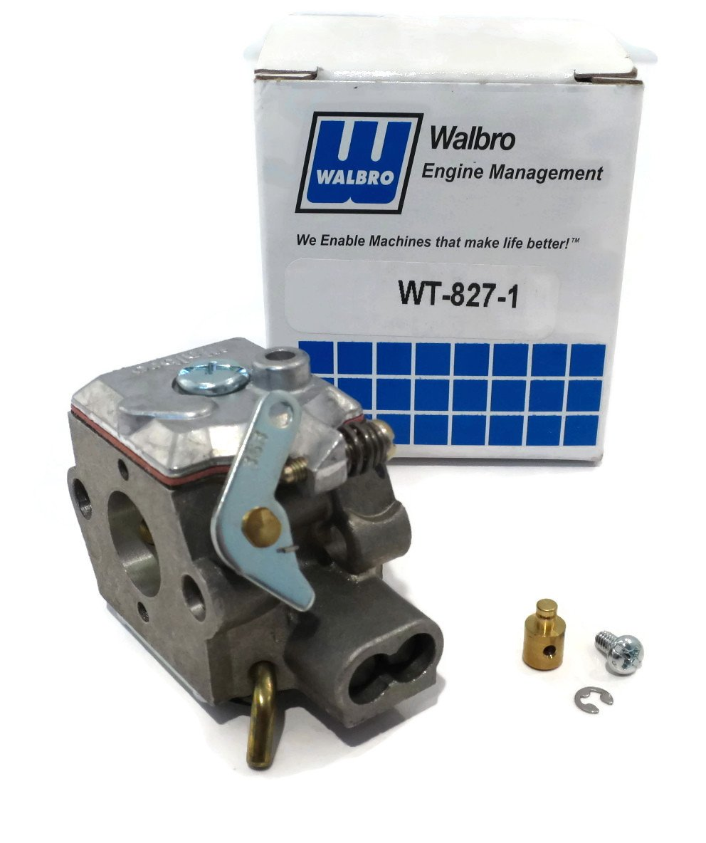 Oem Walbro Carburetor Carb Wt 827 Ryobi Ryan 7843 Lawn Mower Linkage Diagram Images Femalecelebrity Also Mtd 753 05133 String Trimmers Garden Outdoor
