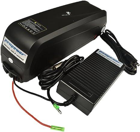 Pswpower 48 V 13 Ah eBike batería de Repuesto + 54.6 V 2 A ...