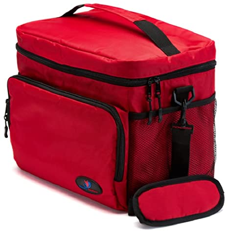1fce2226b088 Insulated Lunch Box for Women | Lunch Cooler Bag | Lunch Boxes for Adults |  Large Lunch Bag | Mens Lunch Box by Ramaka Solutions | Non-Toxic Stain ...