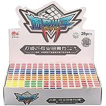 Sunnybrook Cyclone Boys Set of 20 PCS 3x3x3 Speed Puzzle Cube Stickerless Magic Cube