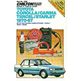 Toyota Corolla Carina, Tercel, and Star, 1970-87 (Chilton model specific automotive repair manuals)