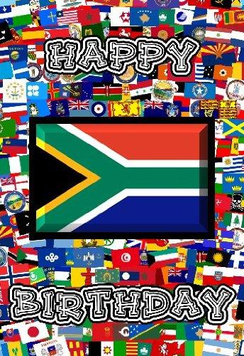 14cm x 10cm art card greetings birthday card flag design south 14cm x 10cm art card greetings birthday card flag design south africa m4hsunfo