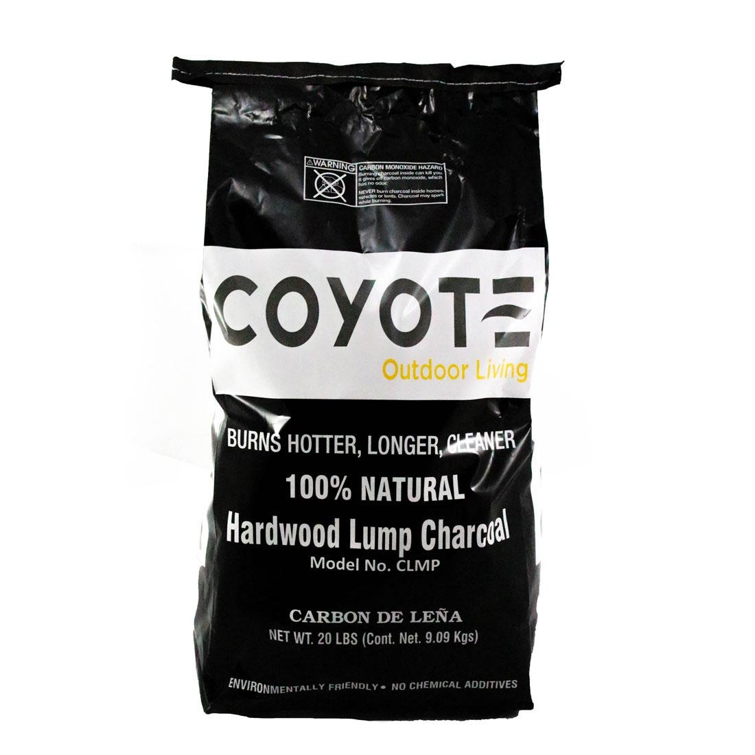 Coyote CLMP All natural lump charcoal - 20 lb bag (M-70)