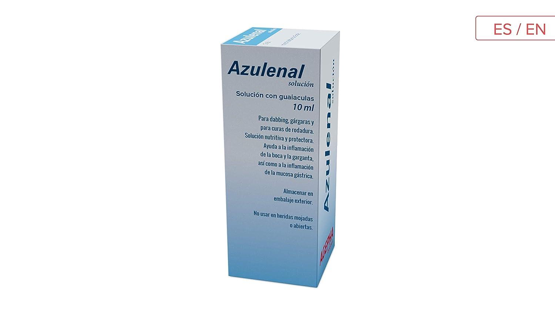 Solución Azulenal para la úlcera de estómago | Ulcera de la ...