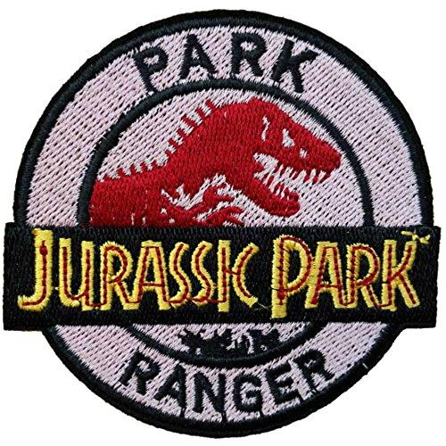 Blue Heron Jurassic Park Movie Ranger Logo Embroidered Iron/Sew-on Applique (Adult Park Ranger Costume)