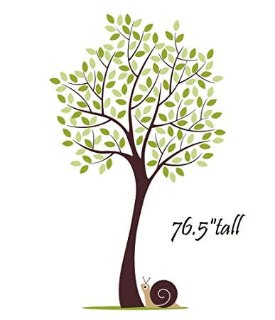 Large Tree Wall Decal For Nursery Baby Girls Boys Kids Room Part 79
