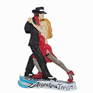 3D Tango of Argentina Fridge Magnet Souvenir Gift Collection Home & Kitchen Decoration Magnetic Sticker Argentina Refrigerator Magnet