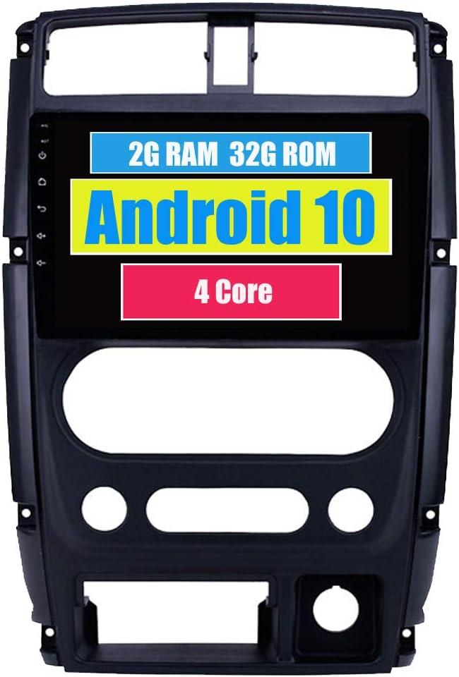 RoverOne Radio del Coche para Suzuki Jimny 2007-2013 con Android Reproductor Multimedia Navegacion GPS Pantalla Táctil Bluetooth Estéreo WiFi USB ...