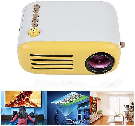 WIVION Mini proyector LED a Todo Color portátil para Regalo de ...