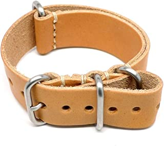 product image for DaLuca Military Watch Strap - Natural Essex (Matte Buckle) : 26mm