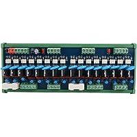 Tablero De Potencia De Salida De Rectificador Controlado De Silicio Scr Amplificador Plc Dc De Zerone De 16 Canales