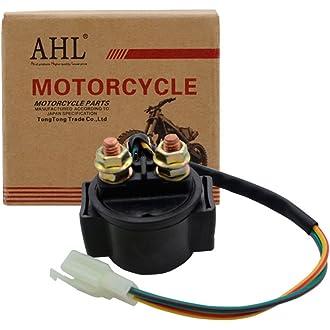 /2004/ATV Ahl motocicleta de arranque solenoide Relay for YAMAHA Warrior 350/YFM350/1987/