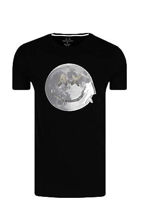 905d25445c1 Armani Exchange T-Shirt Uomo Black  Amazon.co.uk  Clothing