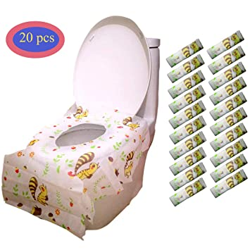 Awe Inspiring Amazon Com Toilet Seat Covers Disposable Disposable Gmtry Best Dining Table And Chair Ideas Images Gmtryco