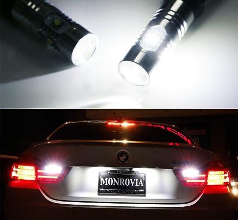ijdmtoy (2) Xenon Blanco error libre LED Bombillas para BMW 4 Series 420i 428i