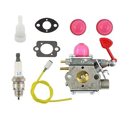 XA Carburetor For Poulan Craftsman Gas Blower BVM200C BVM200VS P200C Walbro  WT-875-A Carb 545081855