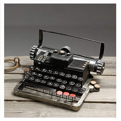 Máquina de escribir retro modelo decoración sala de estar gabinete de TV gabinete del vino decoración