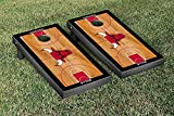 Chicago Bulls NBA Basketball Regulation Cornhole Game Set Basketball Court Version