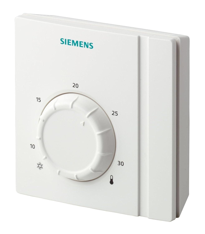 Siemens contrô leur de tempé rature ambiante, Blanc, Raa21