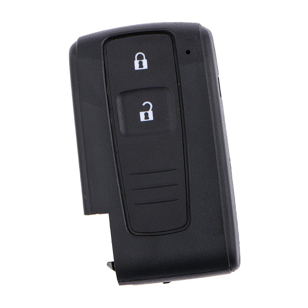 2 Botones Inteligentes Alejado de la Llave Keyless entry Caso de Shell para Toyota Prius