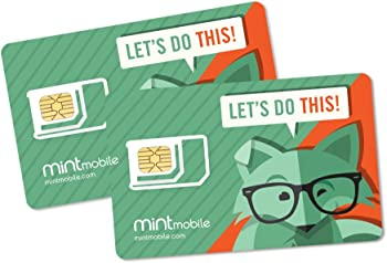 Mint Mobile Starter Kit with Talk Text & Data Plans