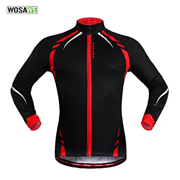 Amazon.com : WOLFBIKE Men&39s Thermal Cycling Jersey MTB Bike Jacket