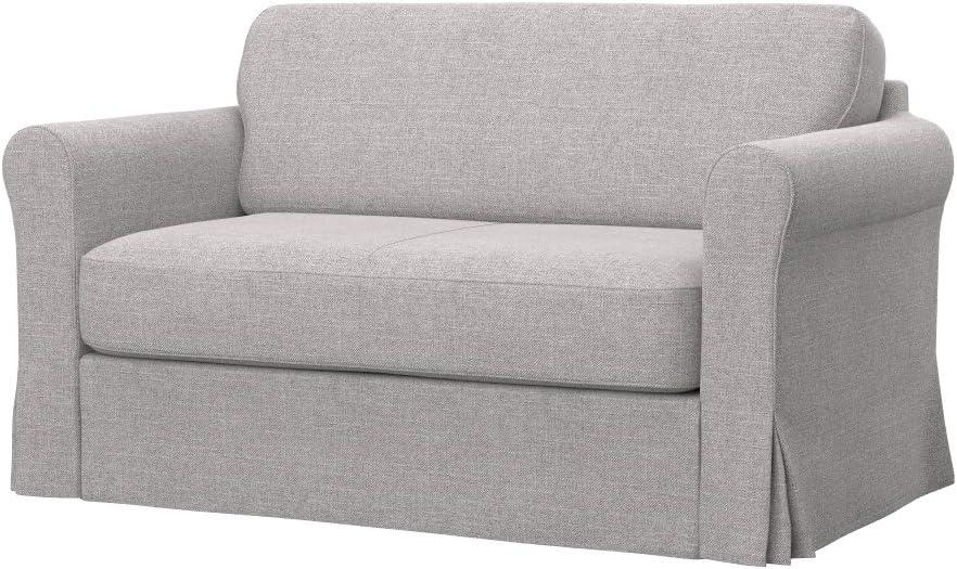 Tissu Elegance Creme Soferia Housse suppl/émentaire IKEA HAGALUND canap/é Convertible