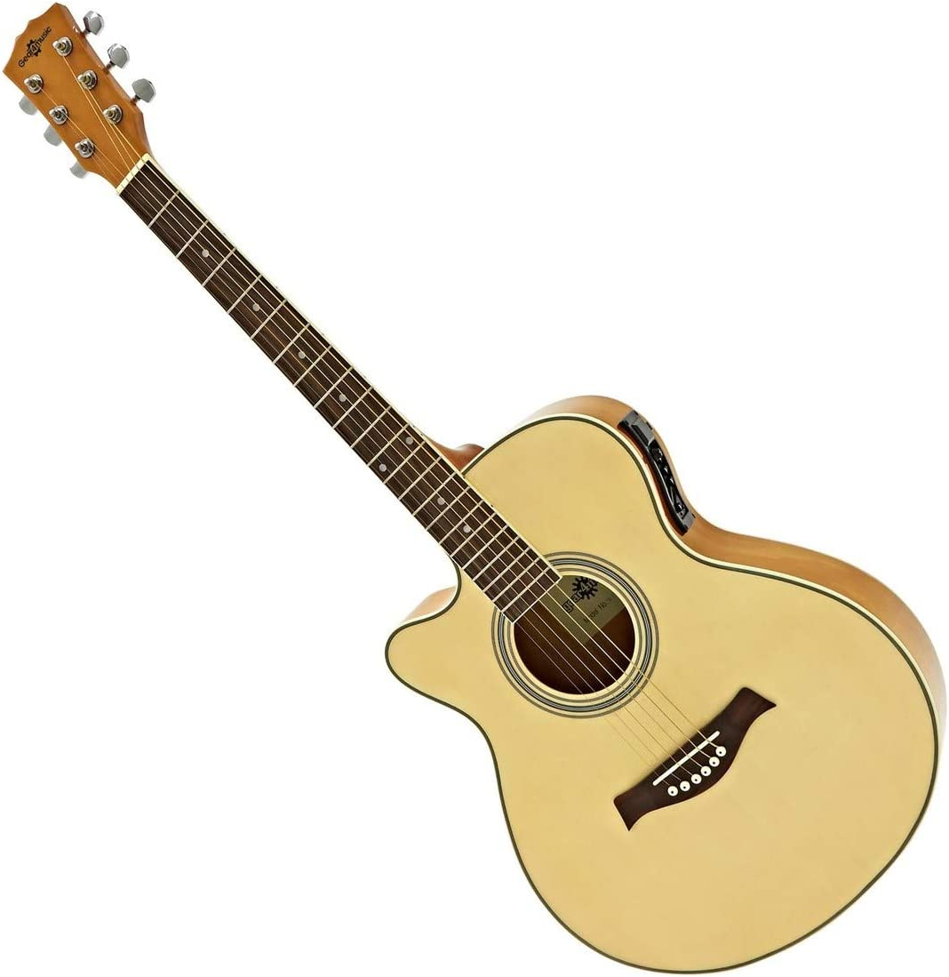 Guitarra Electroacústica Single Cutaway Zurda de Gear4music