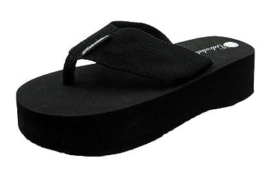32f7c66c012 ShoesCallie Platform Flip-Flop Cute   Comfy Thong Sandals (8 B(M)