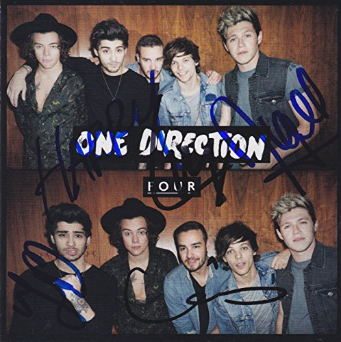 one direction autograph cd - 1